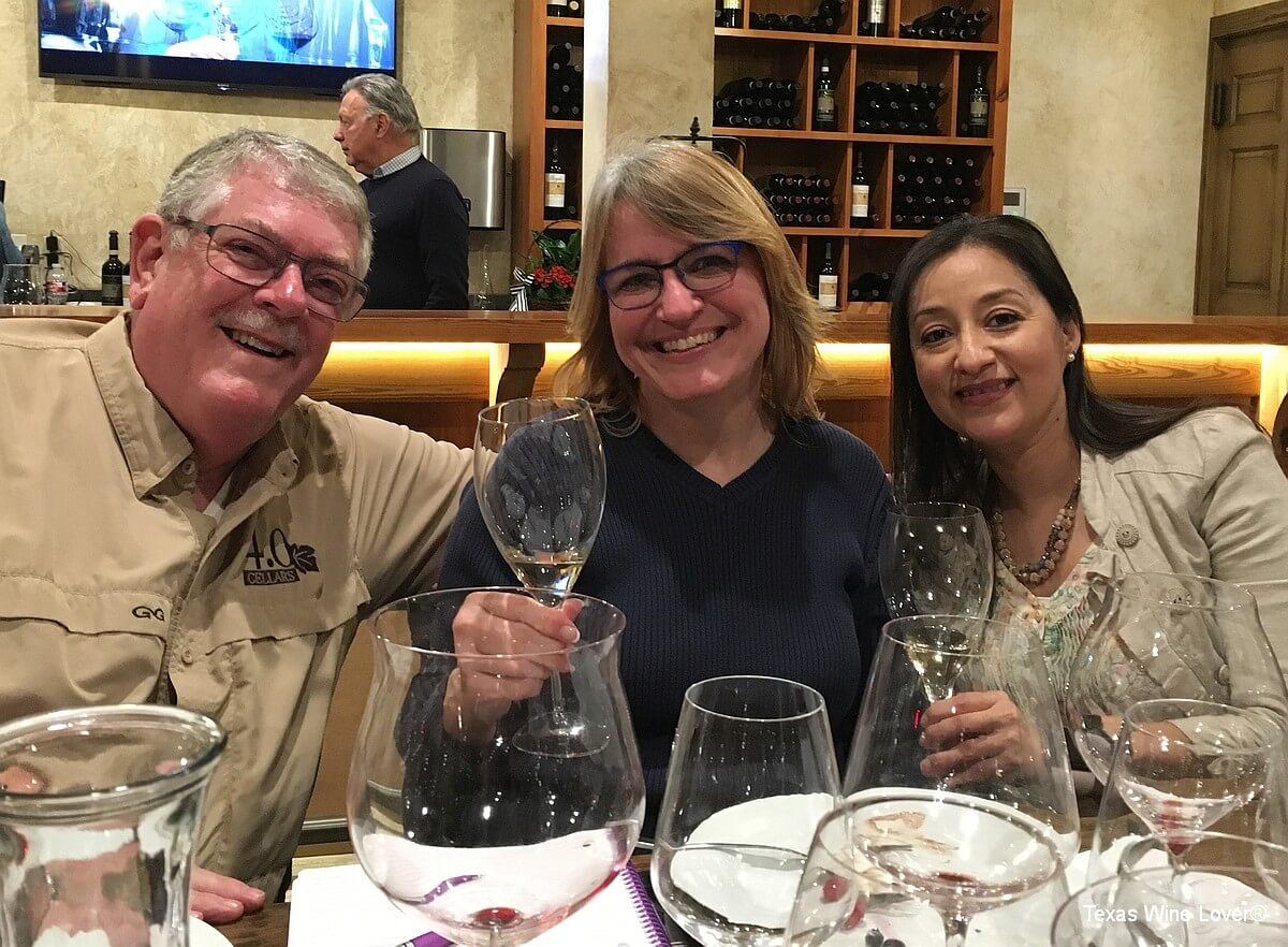 Vino Andreucci - Carl Hudson, Laurie Ware, and Elizabeth Rodriguez