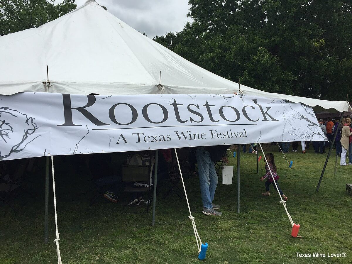Rootstock Wine Festival sign