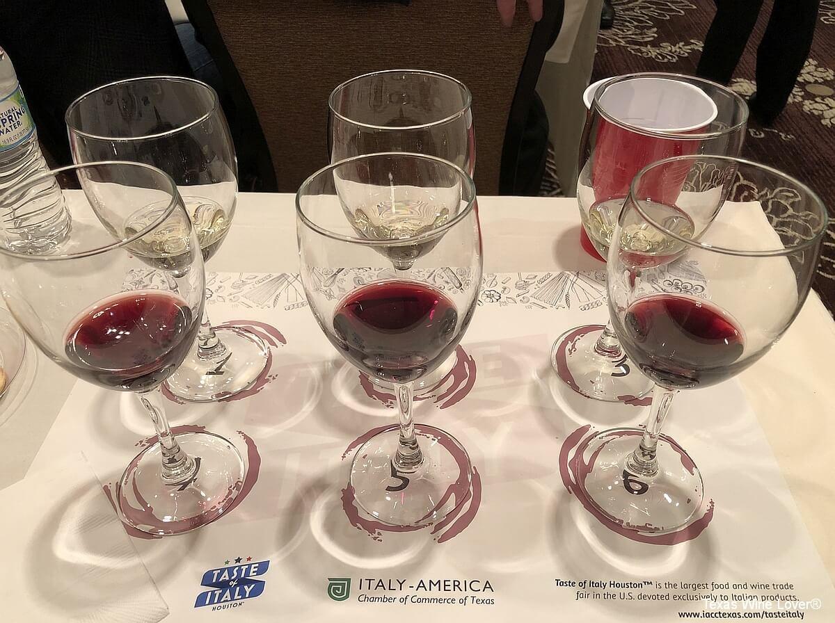 Taste of Italy wines