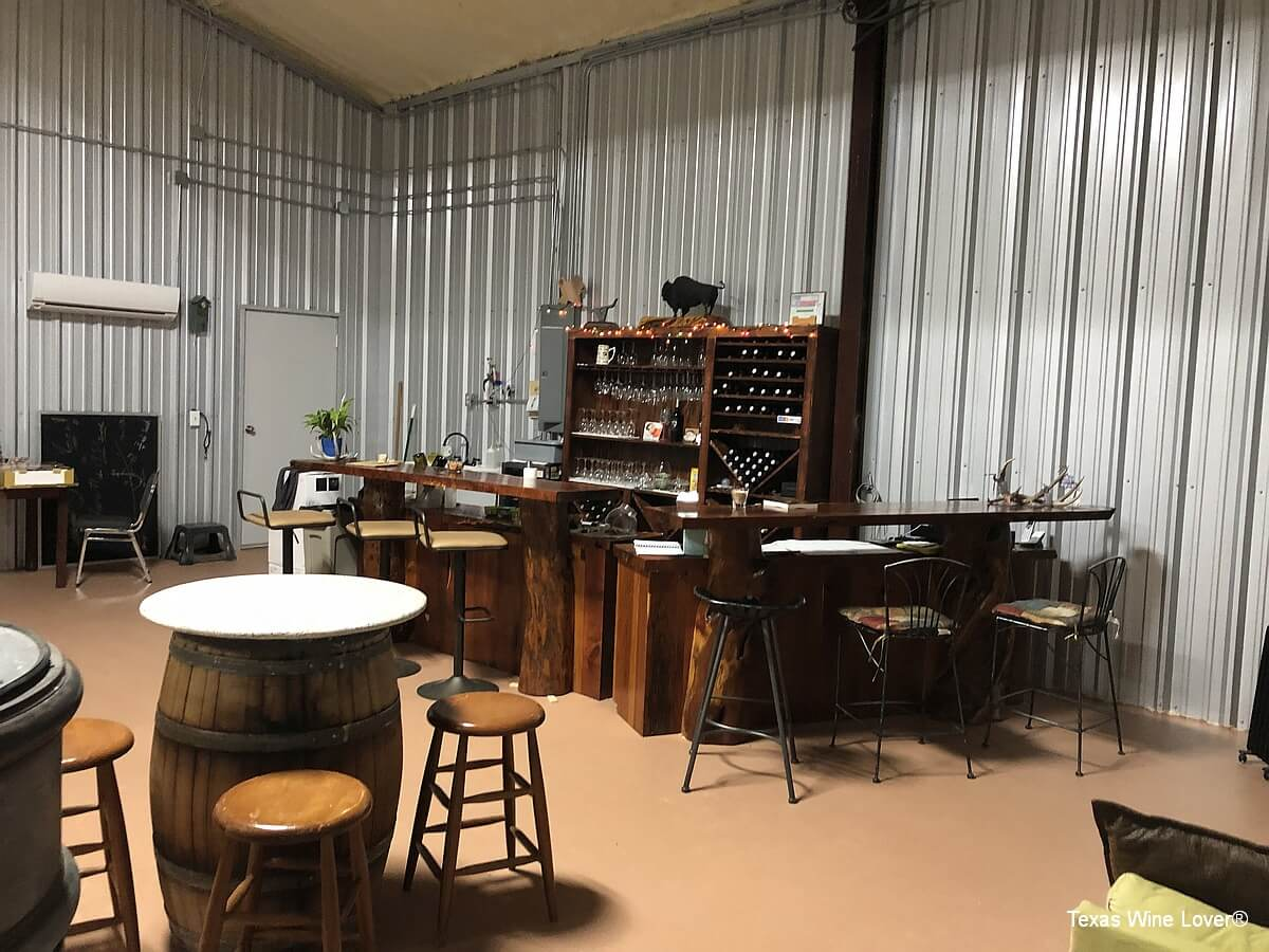 Wines of Dotson-Cervantes tasting room