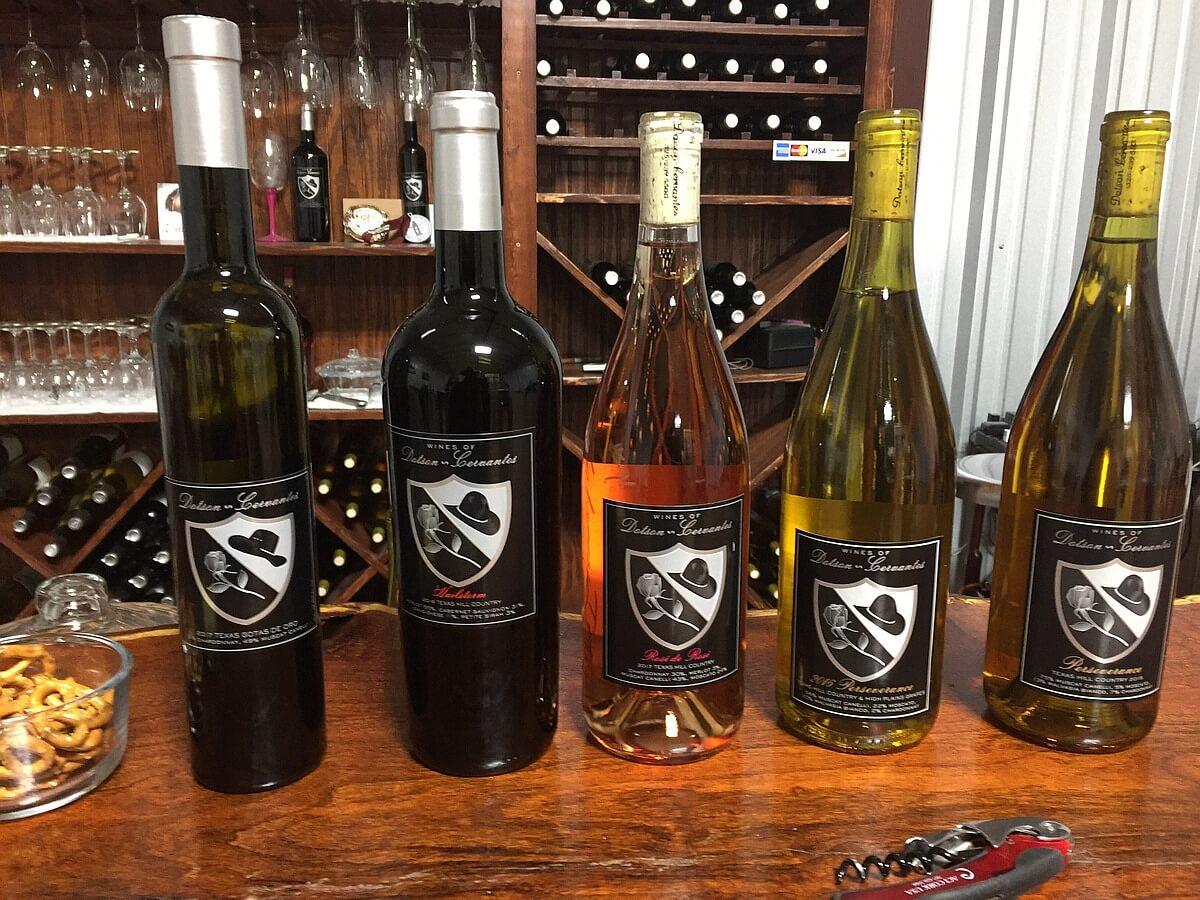 Wines of Dotson-Cervantes wine lineup
