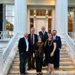 Food and Wine Pairing with Brennan Vineyards at the Texas Governor's Mansion