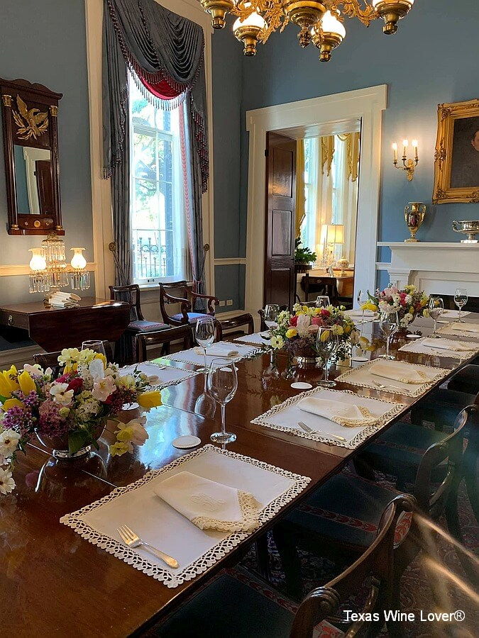 Governor's Mansion Dining Room