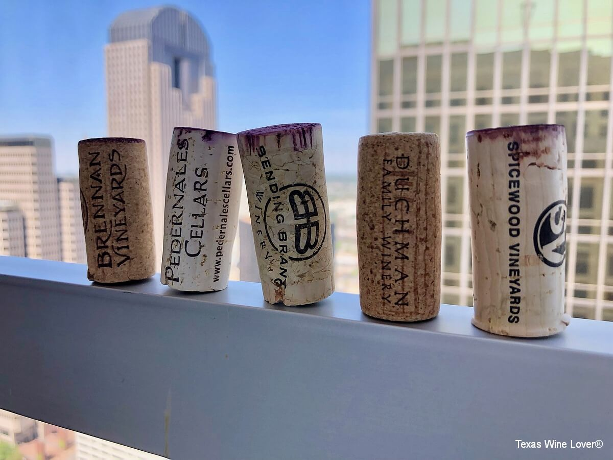 Texas Fine Wine corks