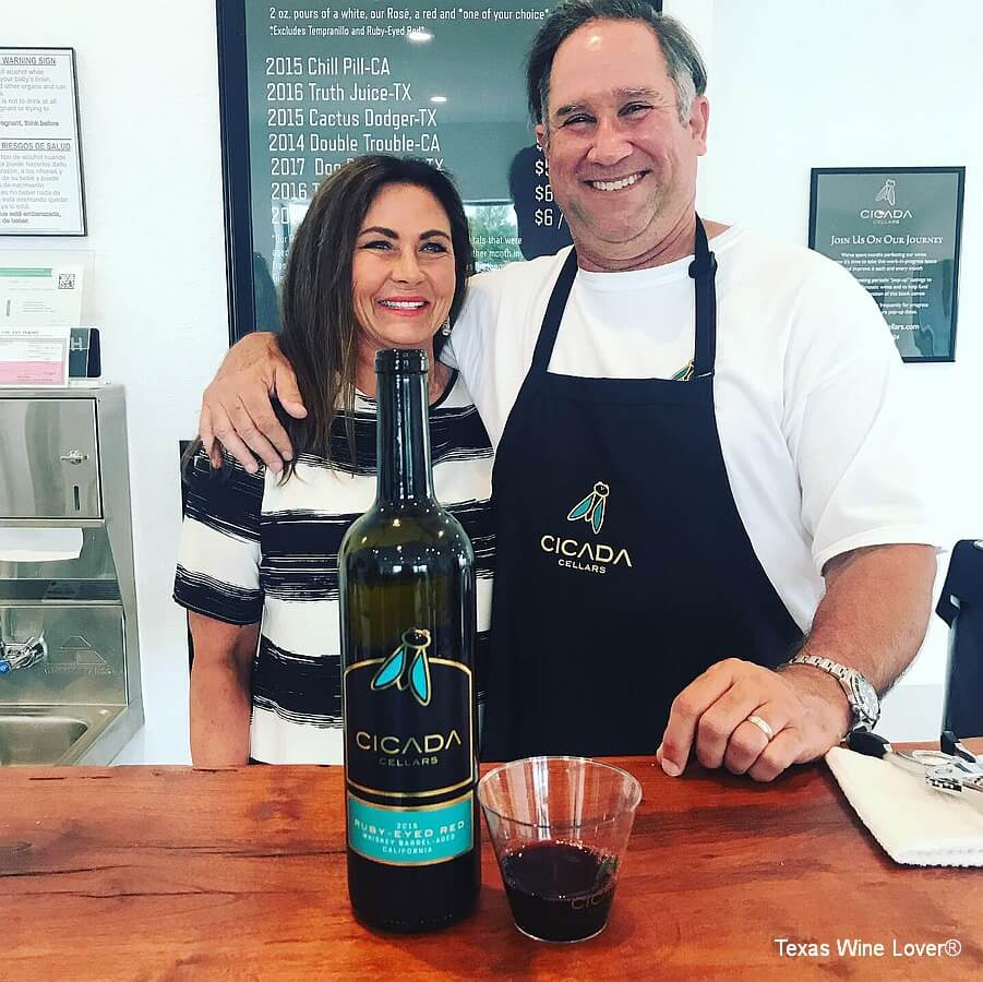 Barbra and Jeff Williams of Cicada Cellars