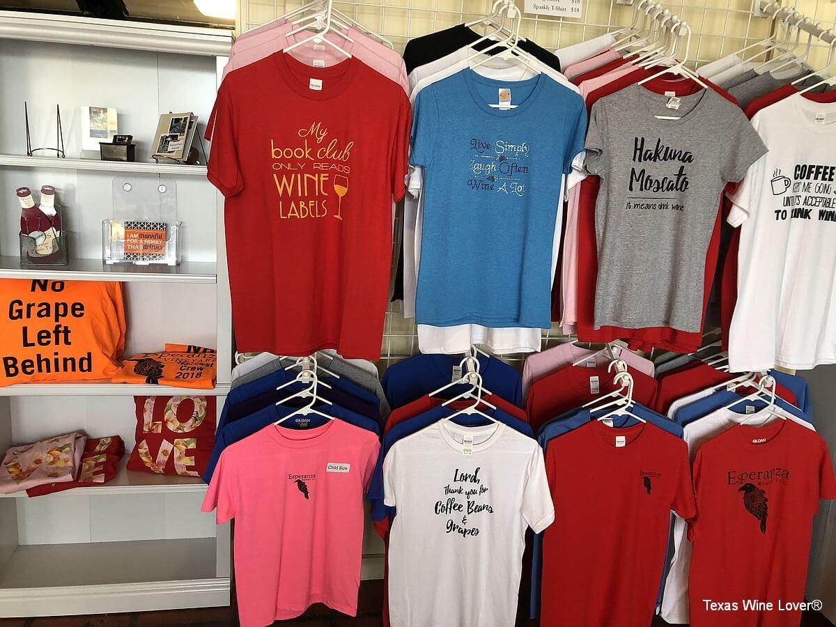 Esperanza Winery shirts