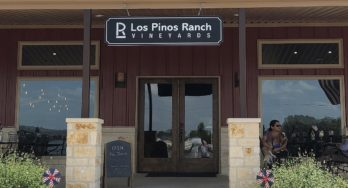 Los Pinos Ranch Vineyards at Fredericksburg outside