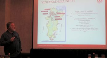 Rudy Marchesi of Montinore Estate - vineyard snapshot