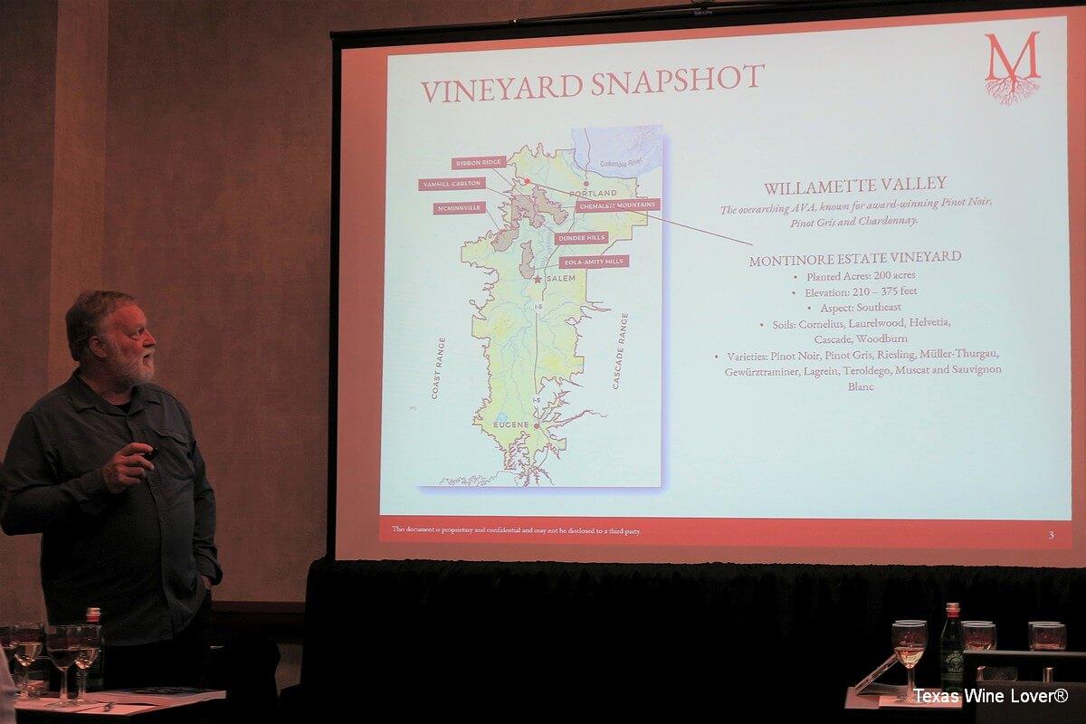 Rudy Marchesi of Montinore Estate - vineyard snapshot