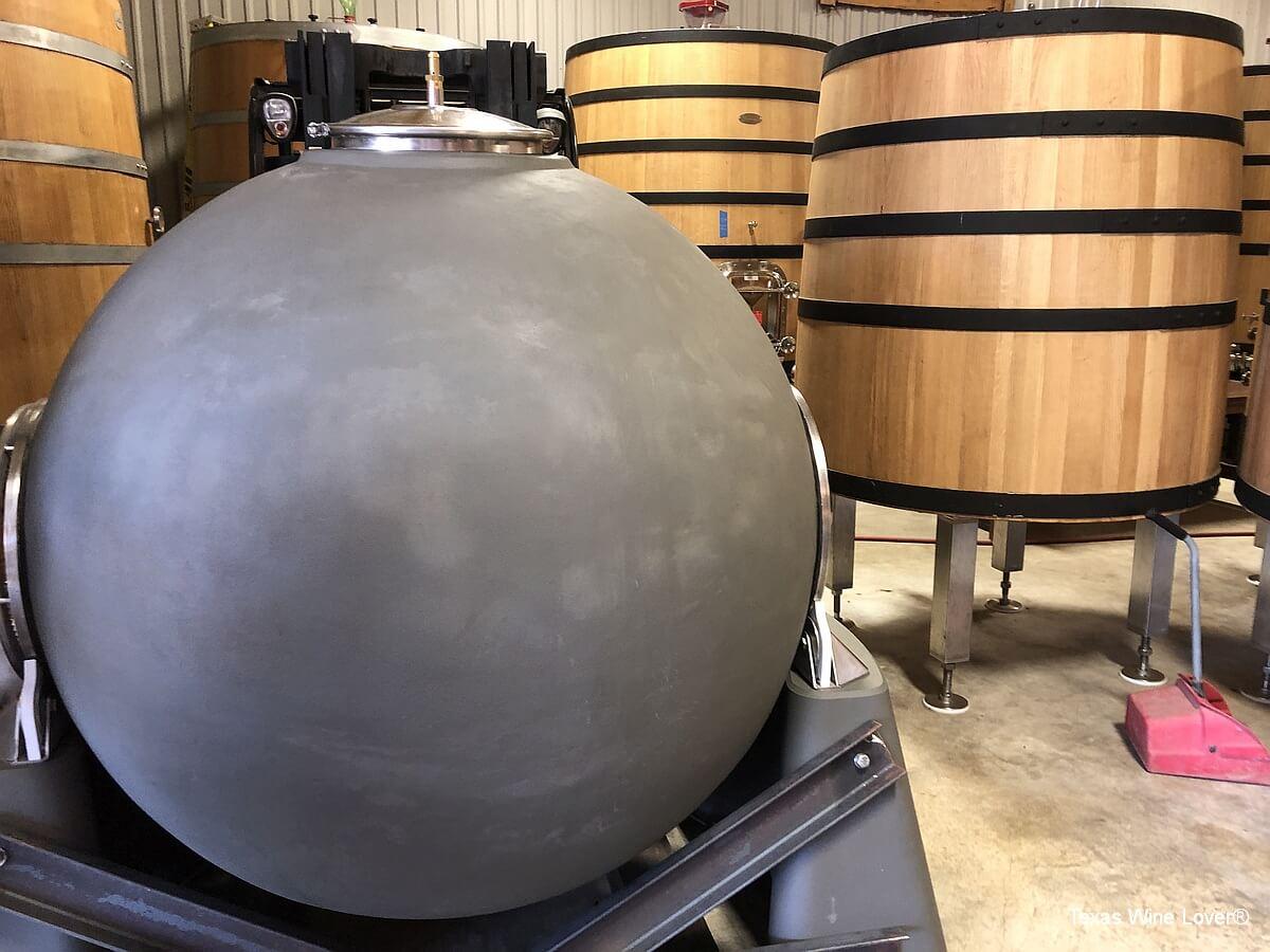 William Chris concrete ball