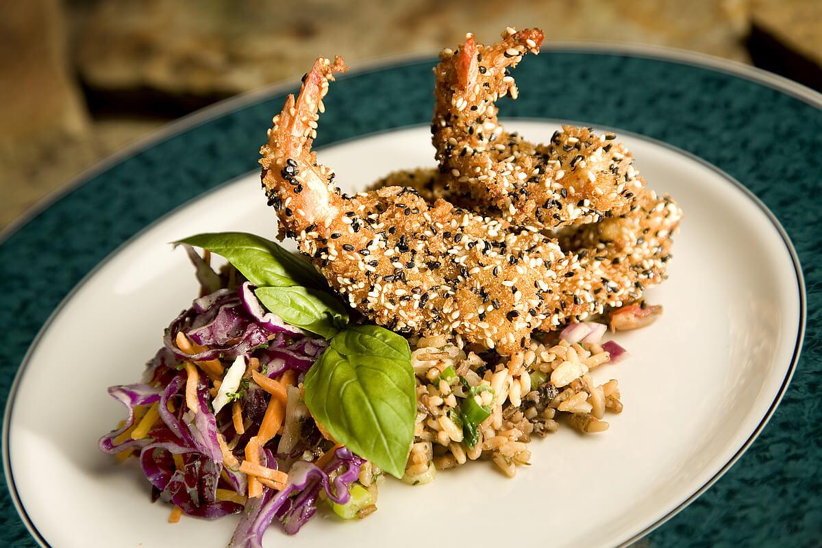 Cabernet Grill shrimp