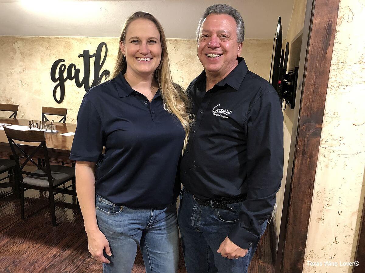 Jill and John Matthews