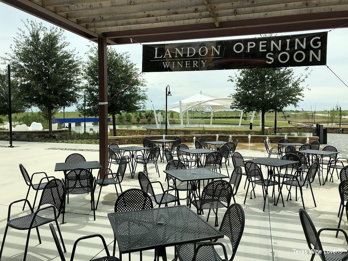 Landon Winery at The Sound back patio
