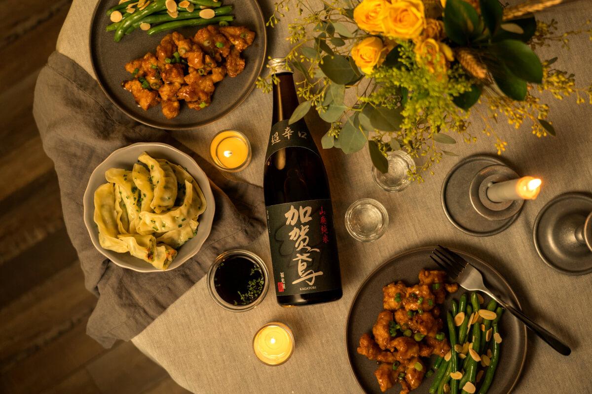 Tippsy Sake with dinner