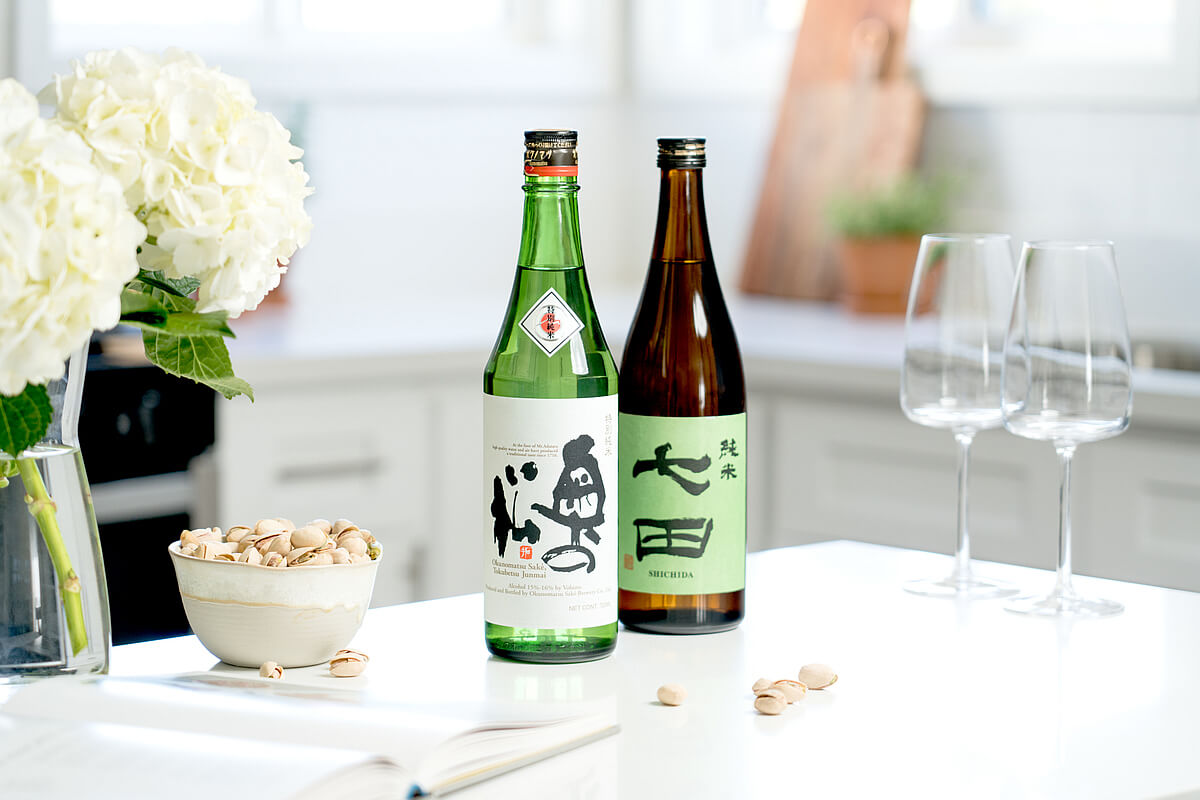 Tippsy Sake with wine glasses