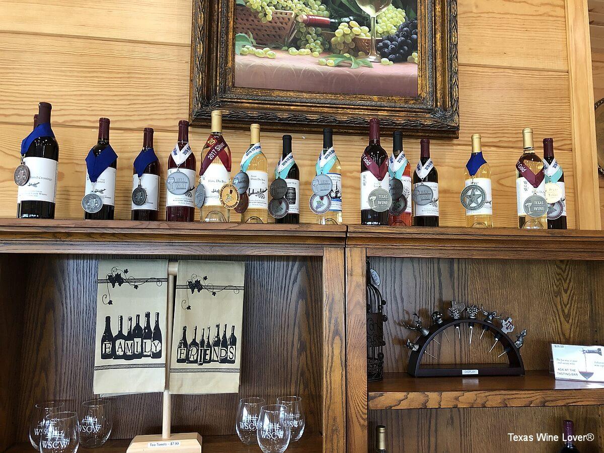 West Sandy Creek Winery awards
