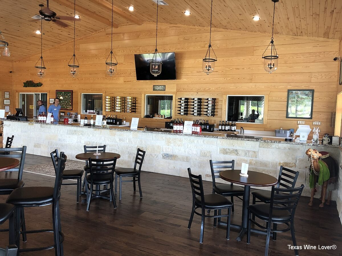 West Sandy Creek Winery tasting bar