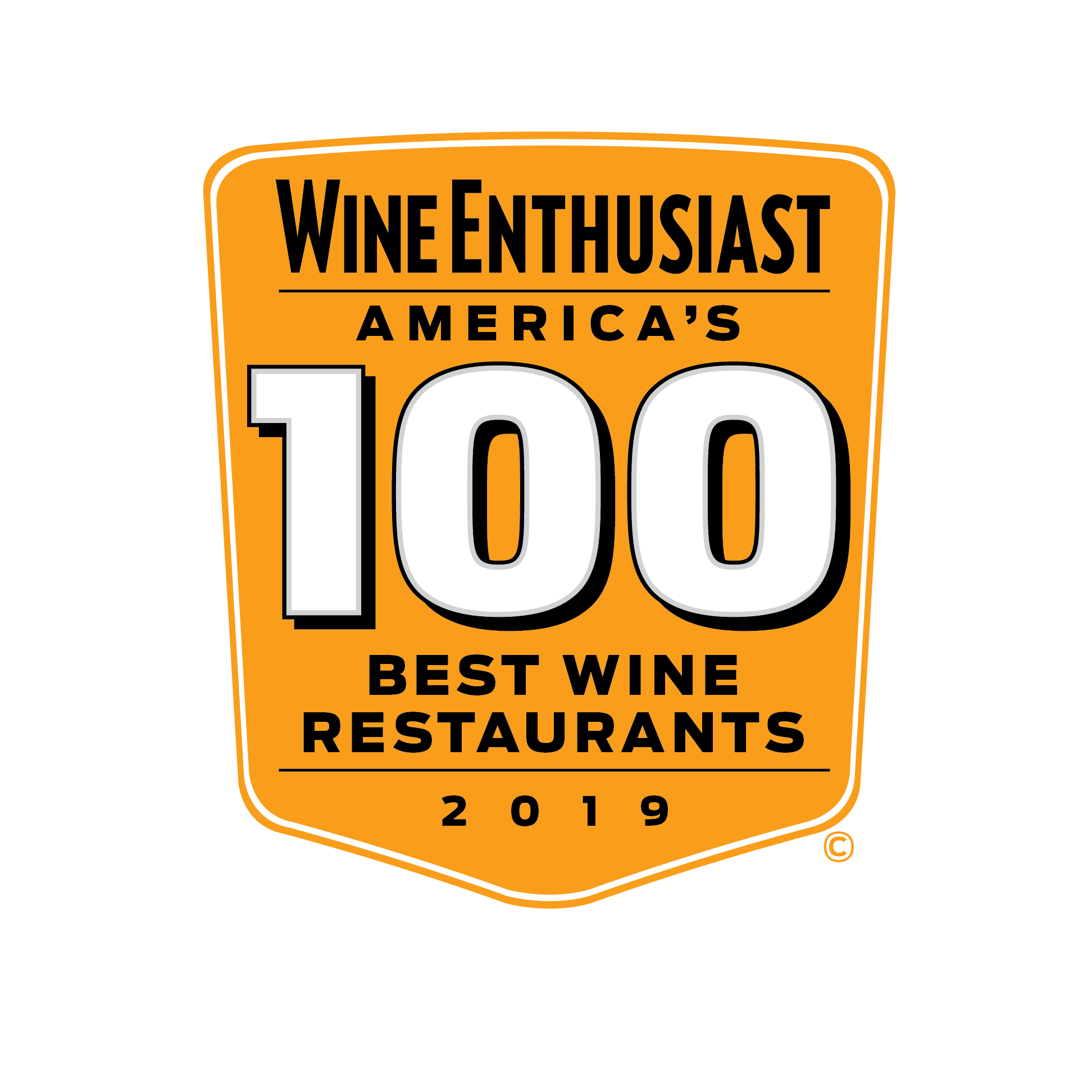 Wine Enthusiast Top 100 Wine Restaurant 2019