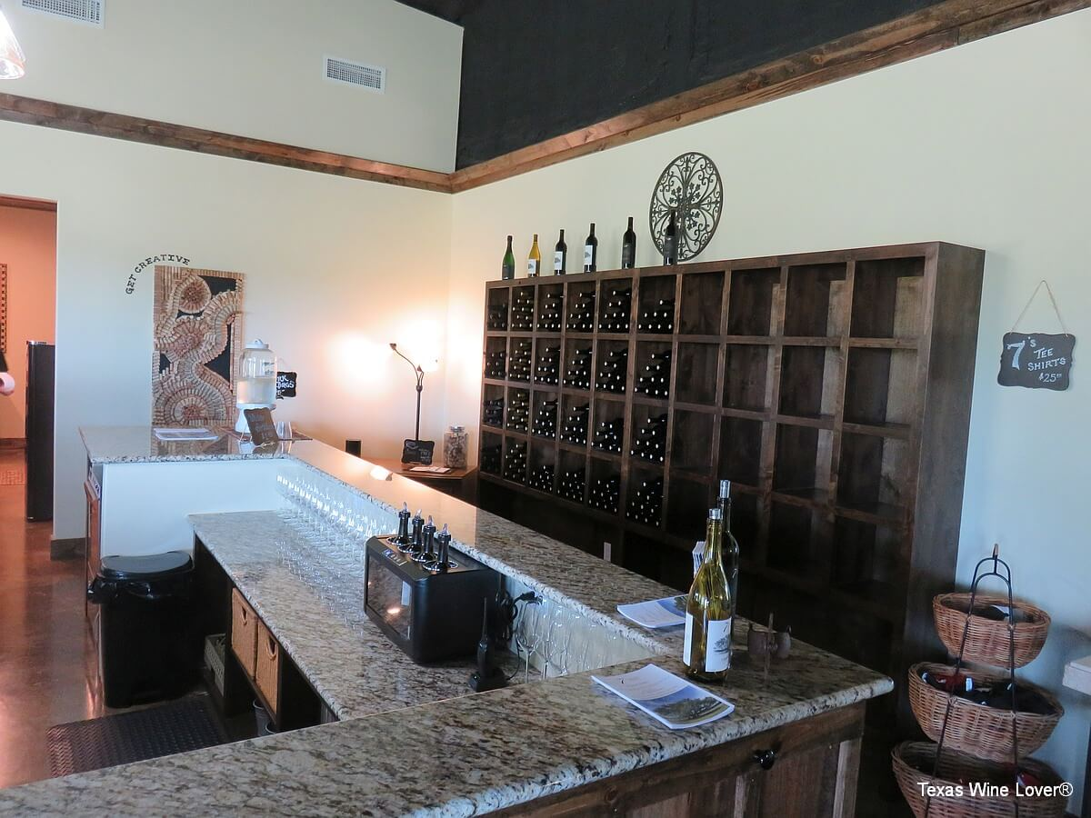 7 Creeks Vineyard tasting room
