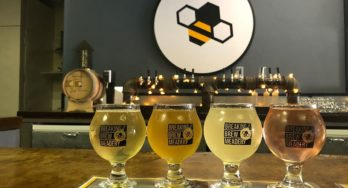 Breaking Brew Meadery flight