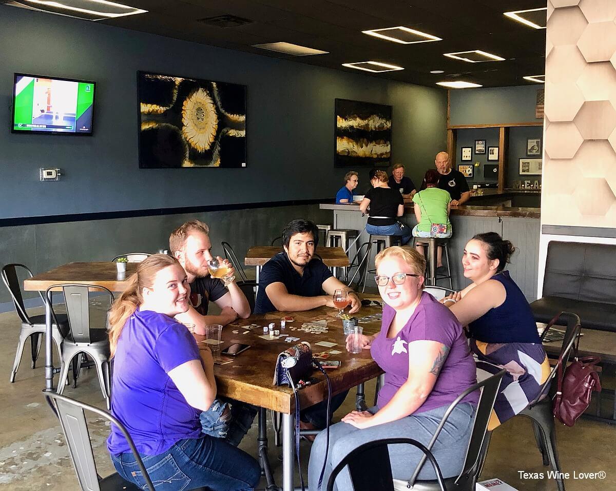 Breaking Brew Meadery tasting room