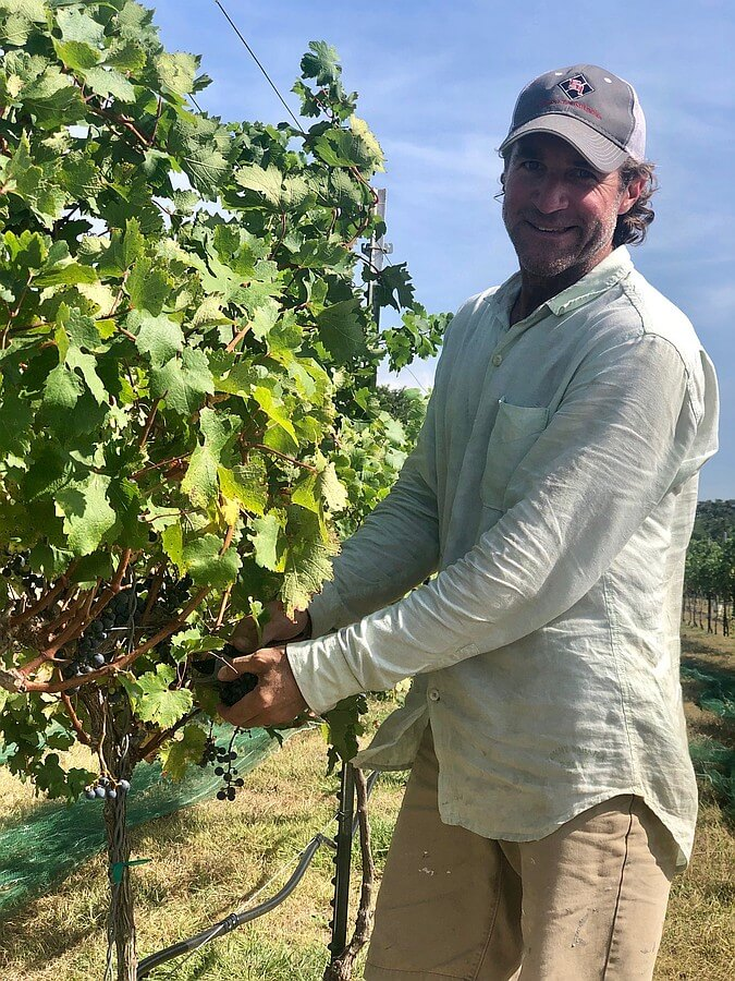 Dave Reilly, Duchman Family Winery, Hog Heaven Vineyard