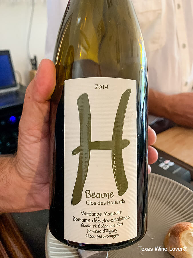 H-Wines Beaune wine