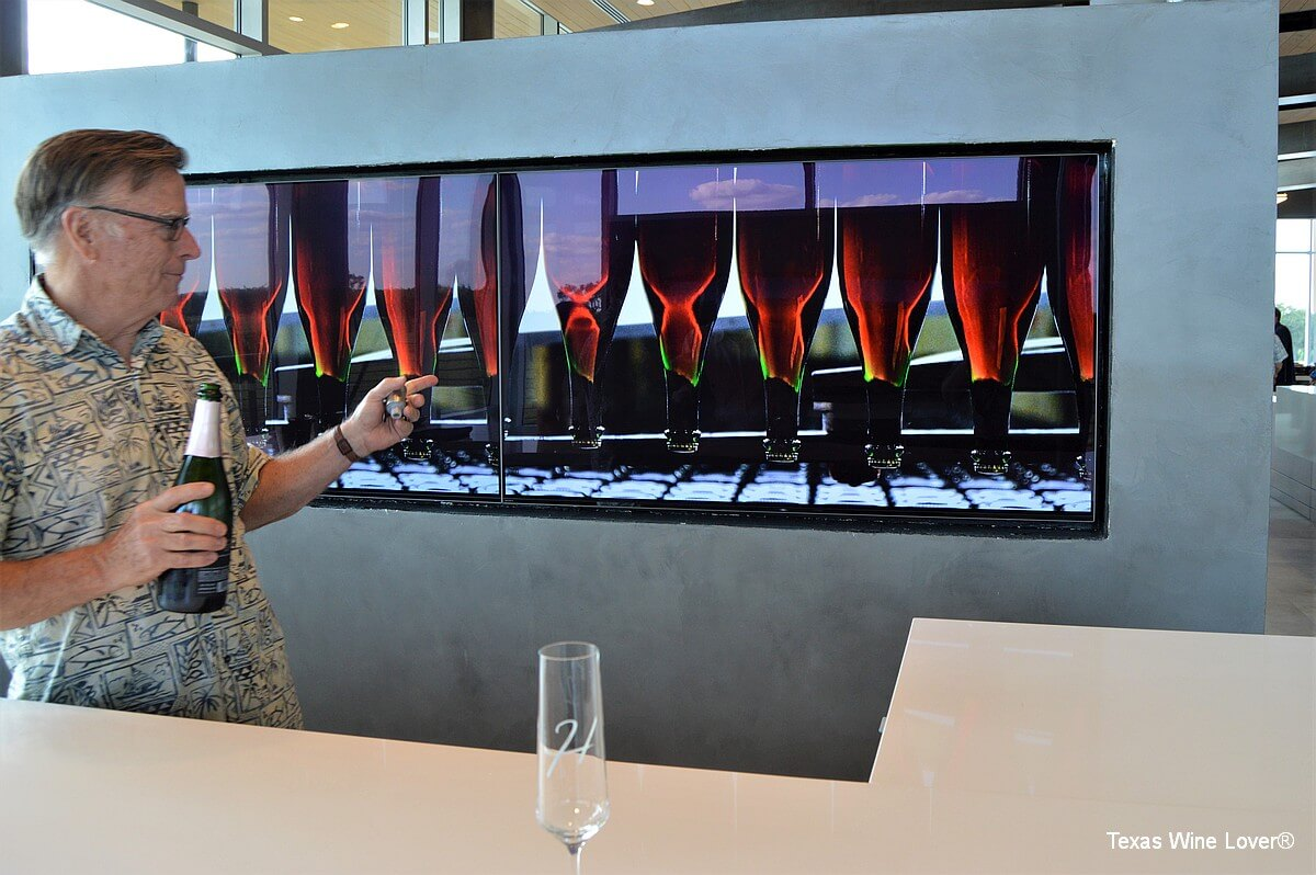 Heath Sparkling Wines explaining disgorge