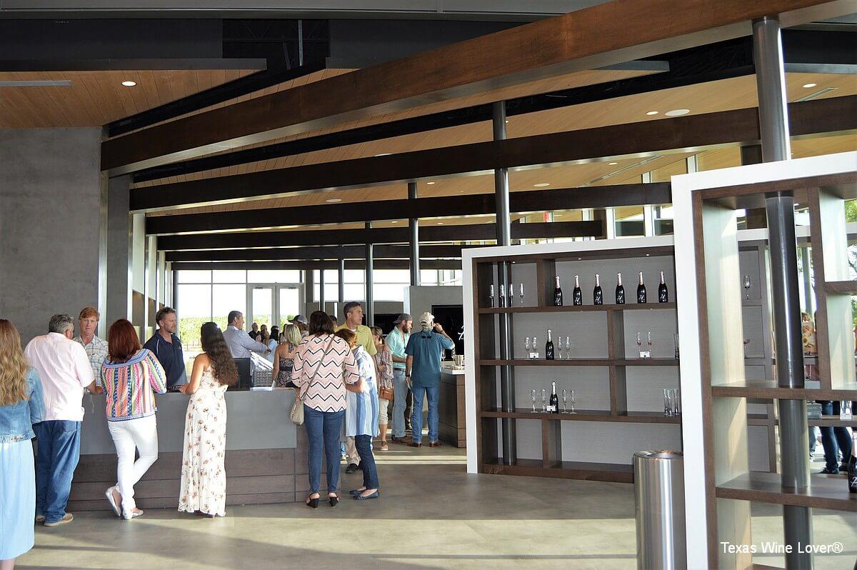 Heath Sparkling Wines tasting room