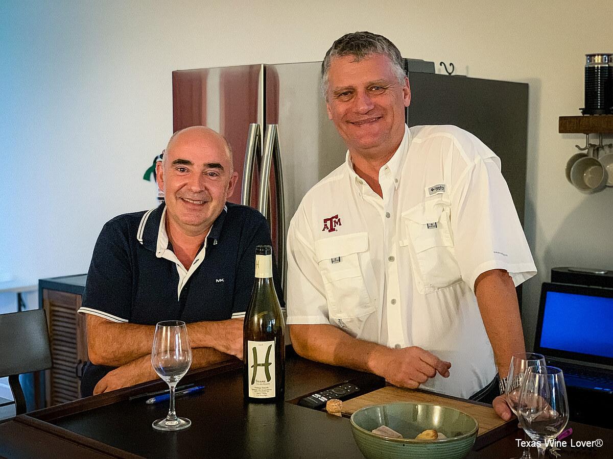 Steve Hari and Philippe Legrand