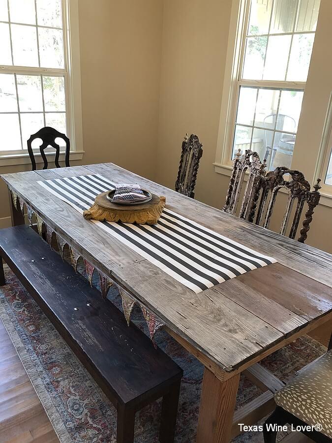 Farmhouse Vineyards table