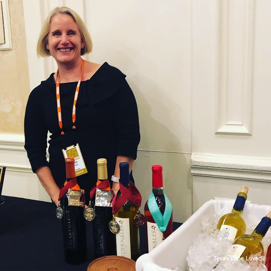 Julie Kuhlken of Pedernales Cellars