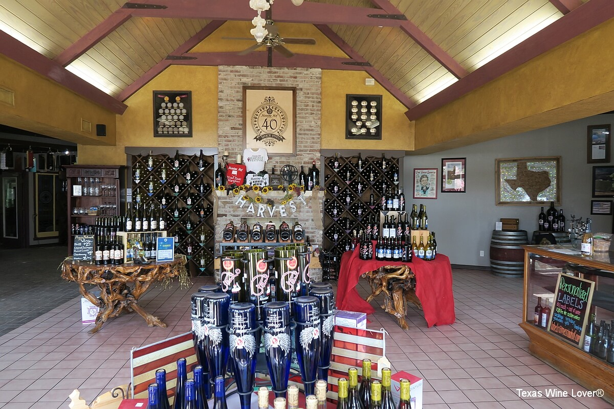 Messina Hof tasting room and gift shop