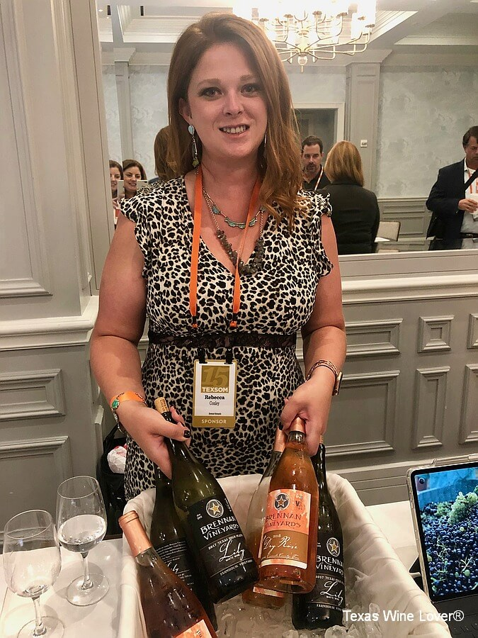 Rebecca Conley of Brennan Vineyards