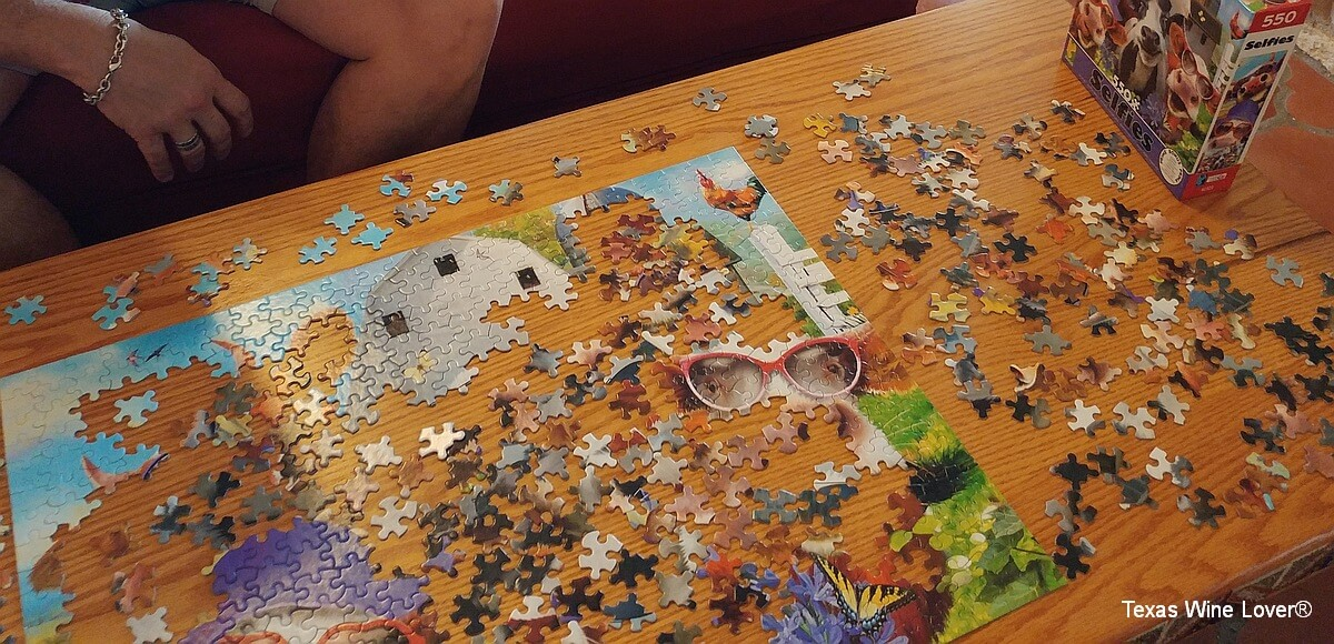 Red Wing Dove jigsaw puzzle