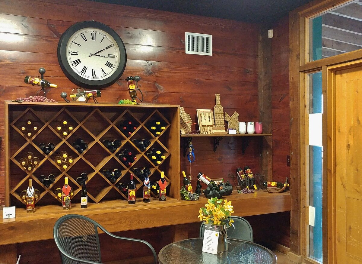 Three Dudes Winery wine selection