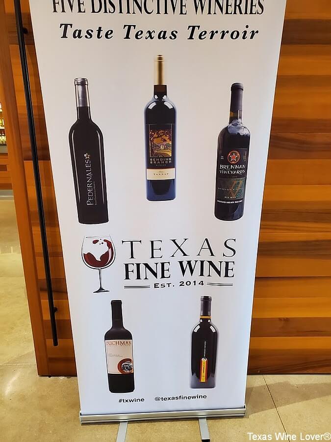 Texas Fine Wine banner