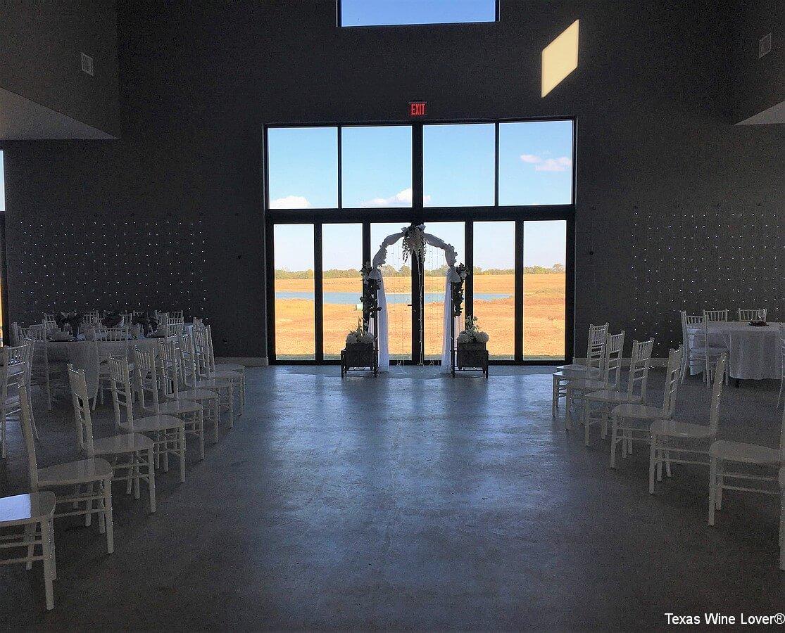 FarmResort Resort Interior Wedding Setup