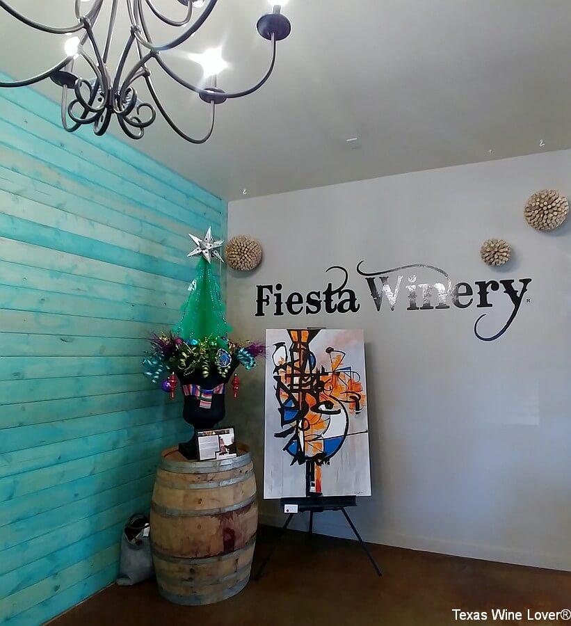 Fiesta Winery art