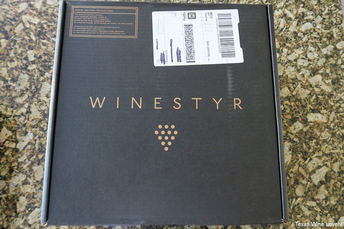 Winestyr packaging