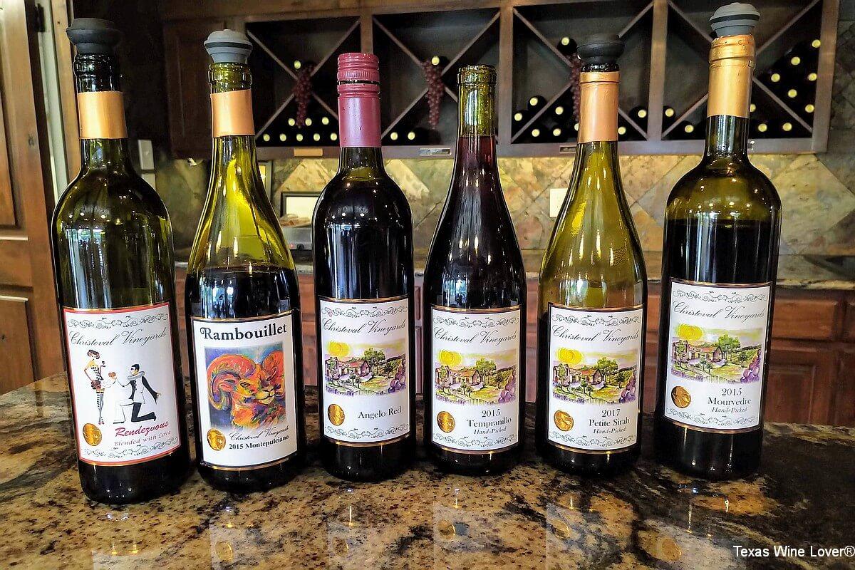 Christoval Vineyards wines