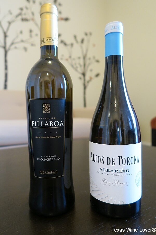 Finca Monte Alto and Altos de Torona bottles