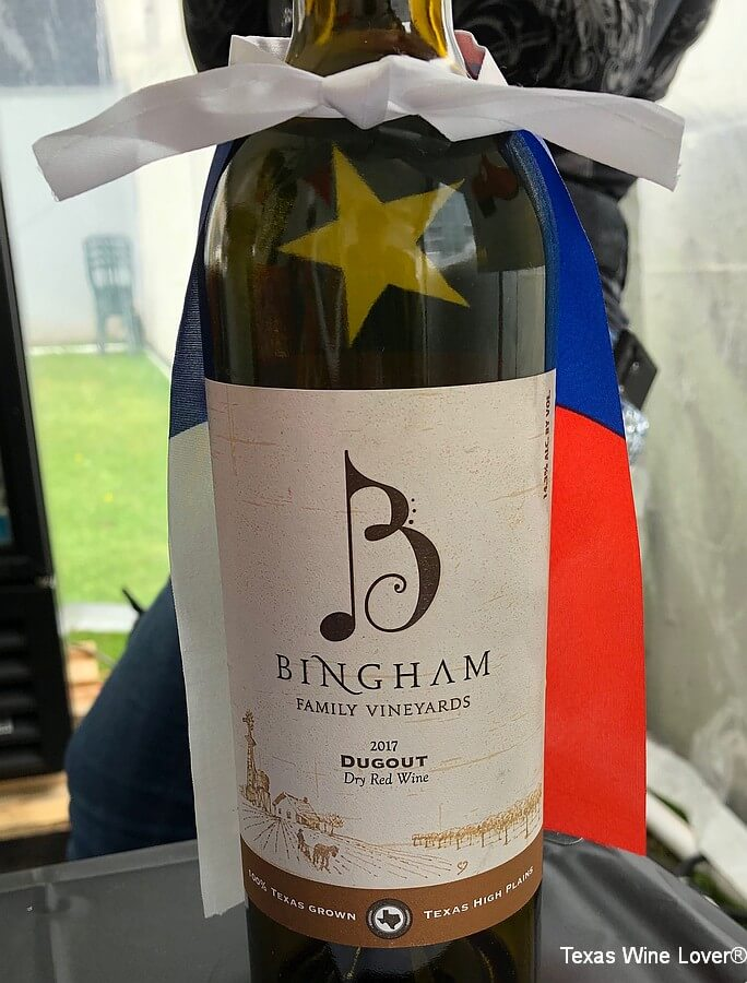 2017 Bingham Family Vineyards Duugout