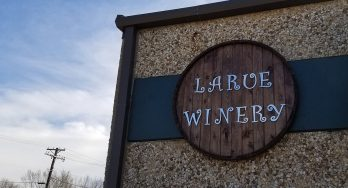 Larue Winery sign