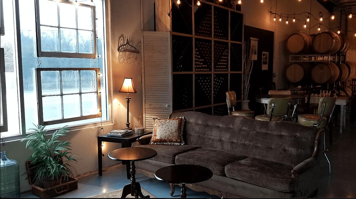 Larue Winery tasting room