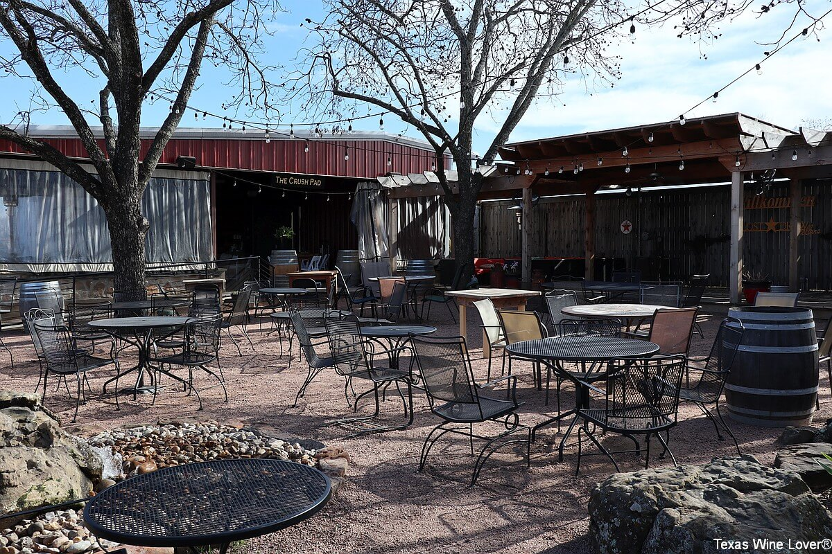 Lost Draw Cellars patio