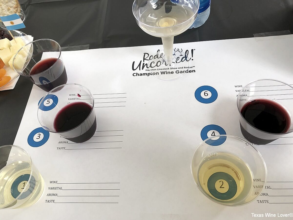 Rodeo Uncorked! Media Day featured wines