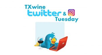 #TXwine Twitter and Instagram Tuesday Logo - featured