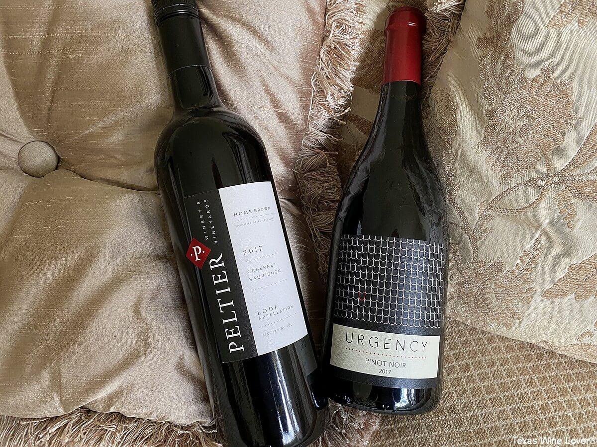 The California Wine Club shipment