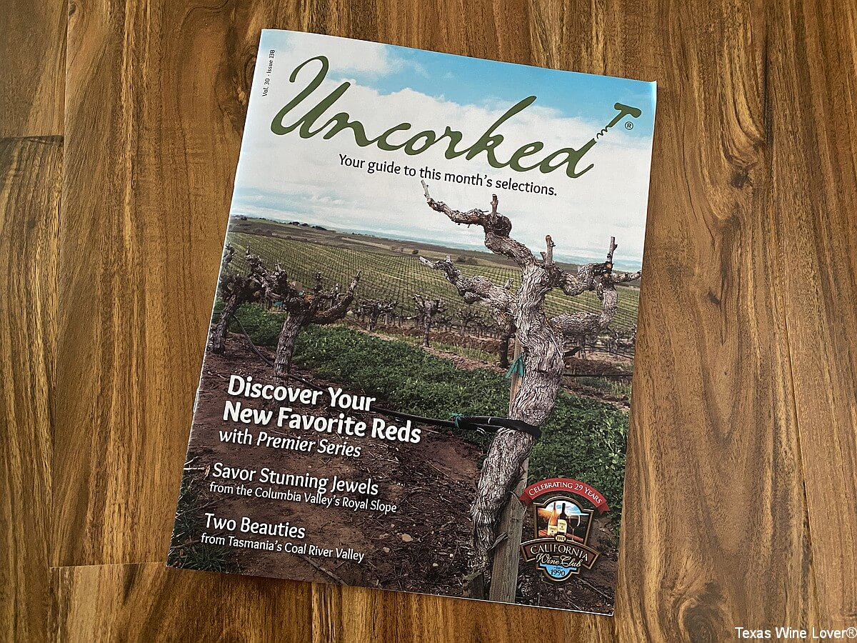 Uncorked magazine